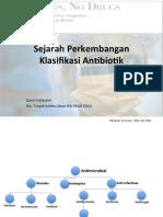 Sejarah Klasifikasi Antibiotik Dewi_2017