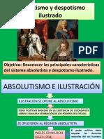 Absolutismo y Despotismo Ilustrado