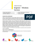 PD - Engineer - Windows