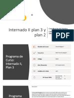Internado II Plan 2 y 3
