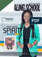 The Healing School Magazine - August 2019 Edition