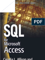 SQL for Access