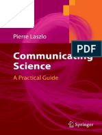 Communicating Science by Pierre Laszlo