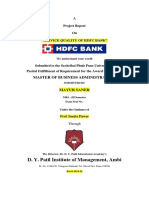 hdfc sip project.docx