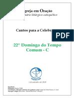 Caderno_22º Domingo Do Tempo Comum_C