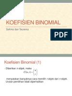 5.Koefisiien Binomial