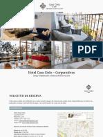[2019] Corporativas - ESP - Tarifas y Politicas de Hotel Casa Cielo (1)