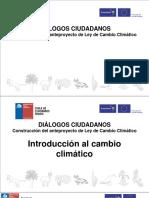 Introducción al cambio climático
