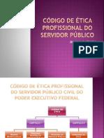 Código de Ética Profissional Do Servidor Público. Decreto 1.171. Resumo