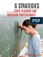 Coping Strategies for Stressed Out Teachers 2