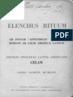 ELENCHUUS RITUUM