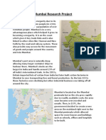 Mumbai Research Project