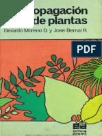 Manual de propagación de plantas por  Moreno & Bernal,  1979