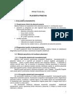 Protocol Placenta Praevia
