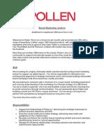 Brand Marketing Analyst - Pollen_Final
