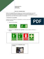 Normas de Seguridad en El Laboratorio Quimico