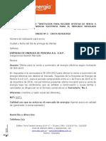 Modelo Oferta Mercantil Terminos CE 003 2013