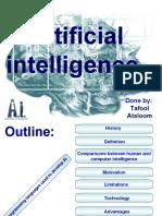 Artificial intellegent