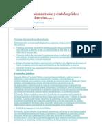 Licenciado en Administración Diferencias y Funciones