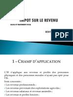 Impôt sur le Revenu - www.coursdefsjes.com