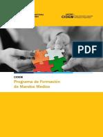 Programa Formacion Mandos Medios 2016