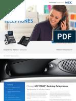NEC Epabx DT400-DT800 Handset