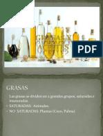 Aceites, Grasas y Escencias Presentación