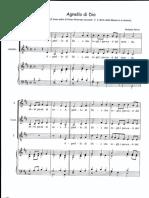 Agnello di Dio Parisi-Bach