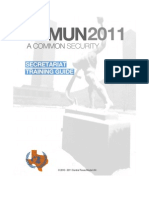 2010 CTMUN Staff Training Guide