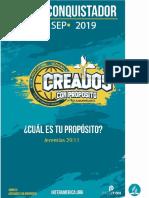 Programa de conquistador 2019