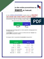 Conjugaison Des Verbes Pronominaux Au Present