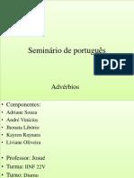 Seminário de Portugês IFAM