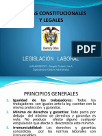 LEGISLACIÓN LABORAL COLOMBIANA