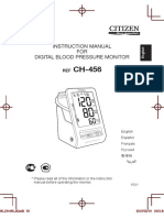 Medidor de Presion Arterial de Brazo CH-456