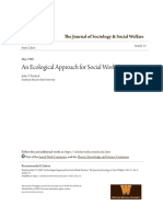 An Ecological Approach for Social Work Practice