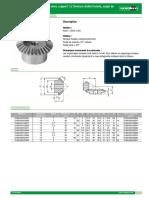 22430 Datasheet 16067 Engrenage Conique en Acier Rapport 1 2 Denture Droite Frais e Angle de Pression 20 --Fr