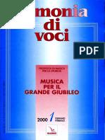 Rmonia Di Voci 2000 01