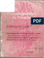 libro Pasalacqua , Alicia M y Otros - El Psicodiagnóstico de Rorschach Interpretación