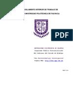 Reglamento Interno Mar 2014
