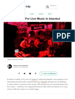 Best Venues For Live Music In Istanbul.pdf