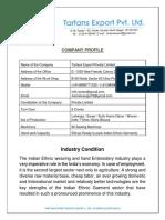 Tartans Company Profile PDF