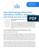 UNESCO Children Adolescents and Youth Are Out School