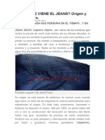 característica de jeans