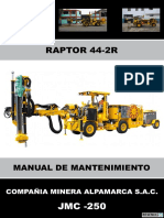 Manual de Mantenimiento Raptor 44-2r Jmc-250