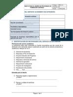 Fps 131 Formato Para El Diseño de Programas de Formación Continua