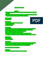 Spreadsheet Modelling Notes (1)