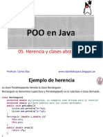 POO Java Clase 05 - Herencia