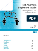 eBook Text Analytics Beginners Guide