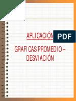 Aplicacion Grafica Promedio Desviacion