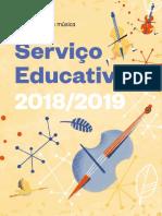 Agenda Servico Educativo 2018 2019